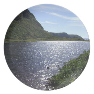Brook in the Mountains: NL,Canada Decorative Plate