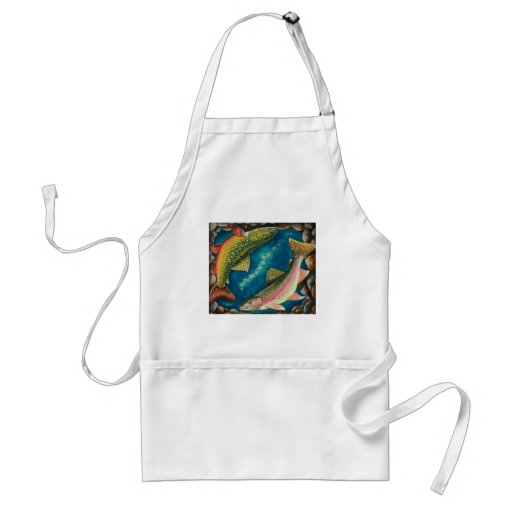 Brook Trout and Rainbow Trout Aprons