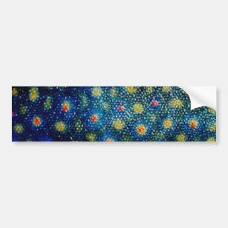 Brook Trout by PatternWear© Bumper Sticker