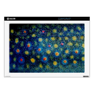 Brook Trout by PatternWear© Skins For Laptops