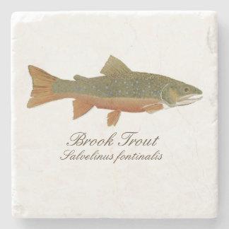 Brook Trout Coaster