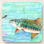 Brook Trout Coasters