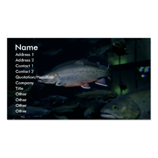 Brook trout Double-Sided standard business cards (Pack of 100)