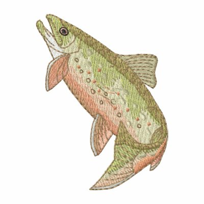 Brook Trout Embroidered Jackets