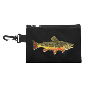 Brook Trout Fish Painting Accessories Bag