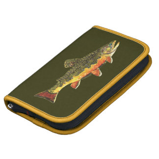 Brook Trout Fish Painting Organizer