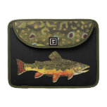 Brook Trout Fish Painting Sleeve For MacBook Pro