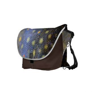 Brook Trout Fish Scales Courier Bag