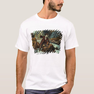 Brook Trout Fishing - An Anxious Moment, 1862 T-Shirt