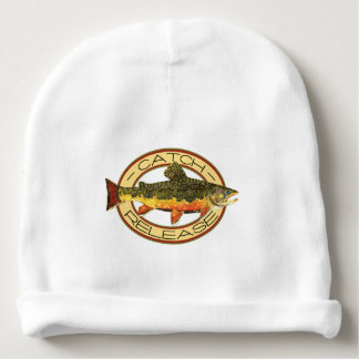 Brook Trout Fishing Baby Beanie