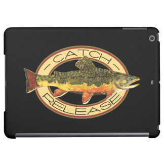 Brook Trout Fishing C and R iPad Air Cases