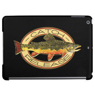 Brook Trout Fishing C and R iPad Air Cover