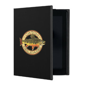 Brook Trout Fishing C and R iPad Cover