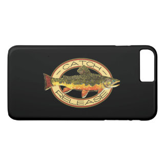Brook Trout Fishing C and R iPhone 7 Plus Case