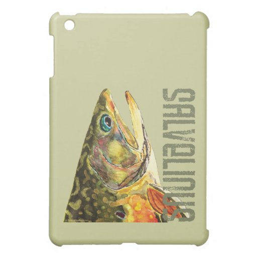 Brook Trout Fishing Cover For The iPad Mini