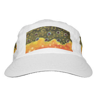 Brook trout hats zazzle for Trout fishing hat