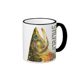 Brook Trout Fishing Mug