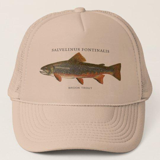 40fea3cf7b7ee Brook Trout Fishing Trucker Hat