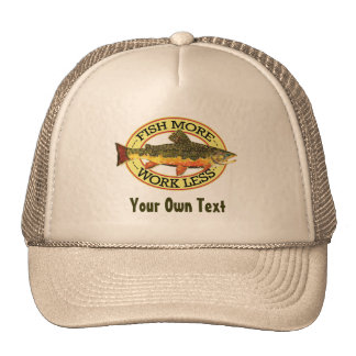 Brook Trout Fly Fisherman Trucker Hat