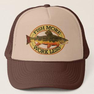 8c79d3e7b1733 Brook Trout Fly Fisherman s Trucker Hat