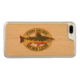 Brook Trout Fly Fishing Carved iPhone 7 Plus Case