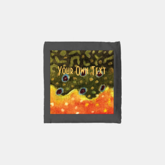 Brook Trout Fly Fishing Reusable Bag