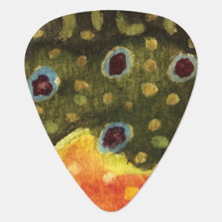 Brook Trout Fly Fishing Guitar Pick