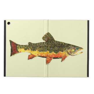 Brook Trout Fly Fishing iPad Air Cases