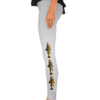 Brook Trout Fly Fishing Legging Tights