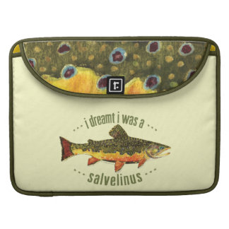 Brook Trout Fly Fishing MacBook Pro Sleeve