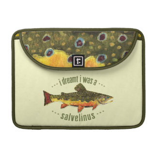 Brook Trout Fly Fishing Sleeve For MacBooks