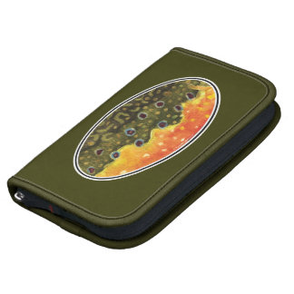 Brook Trout Fly Fishing Folio Planner