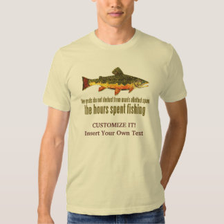 Brook Trout Fly Fishing Shirt