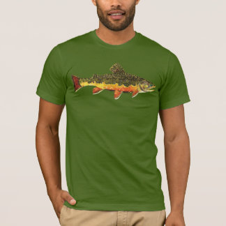 Brook Trout Fly Fishing T-Shirt