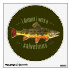 Brook Trout Fly Fishing Wall Decal