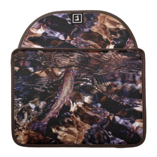 Brook Trout in River Sleeve For MacBook Pro