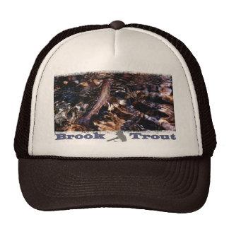 Brook Trout in River Trucker Hat