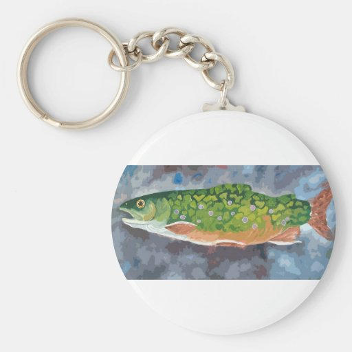 Brook Trout Key Chains