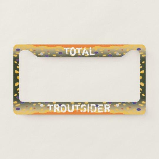 Brook Trout License Plate Frame | Zazzle.com
