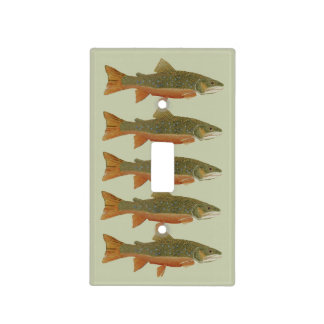 Brook Trout Light Switch Plate
