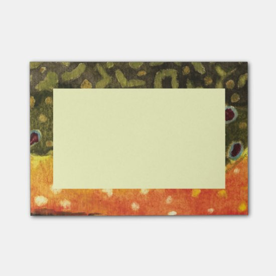 Brook Trout Post-it® Notes