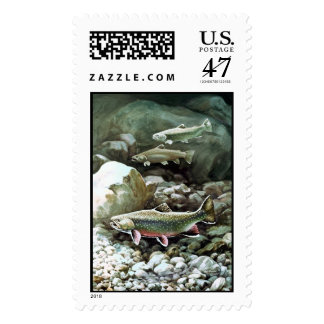 Brook Trout   Postage