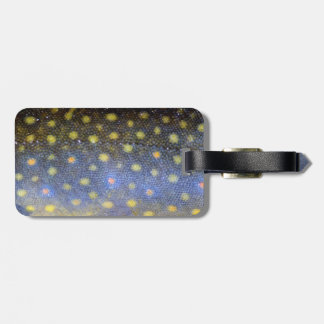 Brook Trout Scales Photography Luggage Tags