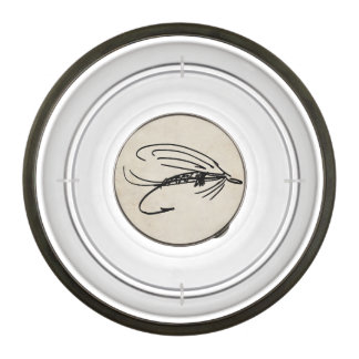 Brook Trout Scales Photography Pet Bowl