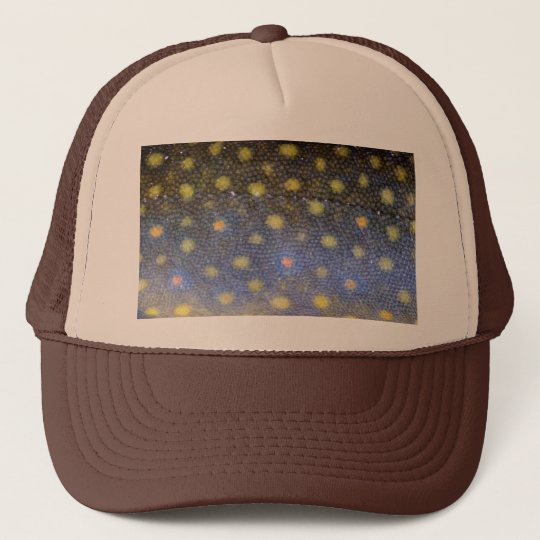 Brook Trout Scales Photography Trucker Hat
