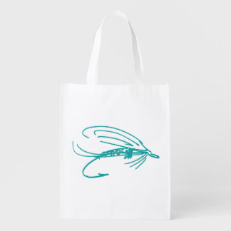 Brook Trout Scales Photography Grocery Bag