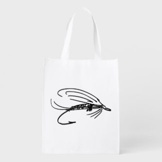 Brook Trout Scales Photography Grocery Bags
