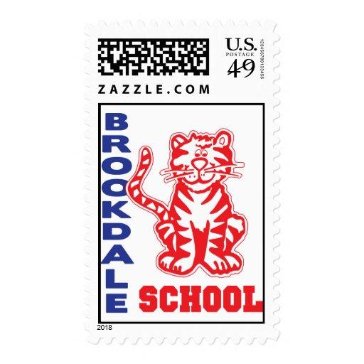 Brookdale School Postage