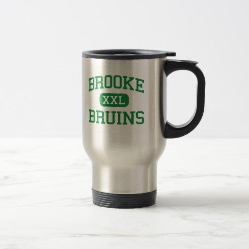 Brooke - Bruins - High - Wellsburg West Virginia 15 Oz Stainless Steel Travel Mug