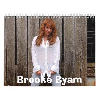 Brooke Byam Calendar